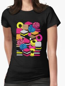 Liquorice Picturish Womens Fitted T-Shirt