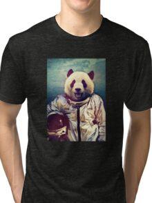 Astronaut panda Tri-blend T-Shirt