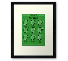 An Auricular Guide to the Elven Peoples Framed Print
