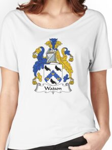 Watson Coat of Arms / Watson Family Crest Women's Relaxed Fit T-Shirt