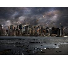 Destruction in the city Photographic Print