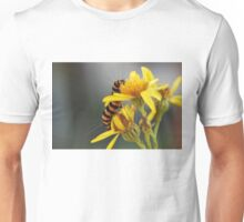 Yellow and stripes Unisex T-Shirt