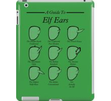 An Auricular Guide to the Elven Peoples iPad Case/Skin