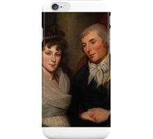 Mr. and Mrs. Alexander Robinson, Charles Willson Peale, iPhone Case/Skin