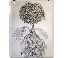 Chrysanthemum after Piet Mondrian iPad Case/Skin