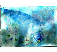 funky freaky fish Photographic Print