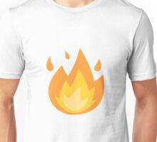 Fire/Flame Emoji Unisex T-Shirt