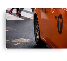 Taxi NYC Canvas Print
