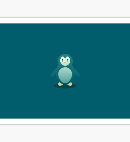 Charles the happy Pinguin Sticker
