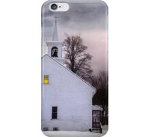A Light in the Old Church iPhone Case/Skin