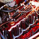 Vintage Ford coupe engine by htrdesigns