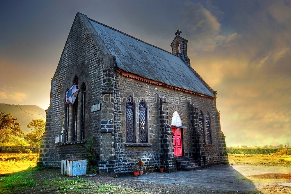 Old Church (Please Enlarge) by Charuhas  Images