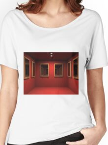 3D room  Women's Relaxed Fit T-Shirt