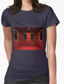 3D room  Womens Fitted T-Shirt