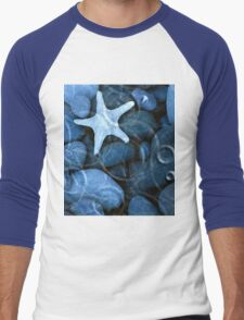 star fish rain Men's Baseball ¾ T-Shirt