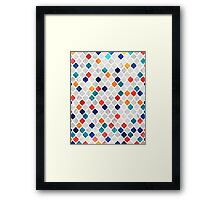 Sea & Spice Moroccan Pattern Framed Print