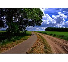 Countryroad - Steenakkersweg Photographic Print