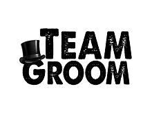 Team Groom Bachelor Party Stag Best Man Groomsmen Men Funny Wedding Gifts Favors Photographic Print