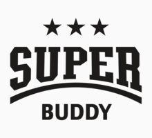 Super Buddy (Black) One Piece - Long Sleeve