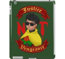Justice not Vengeance iPad Case/Skin