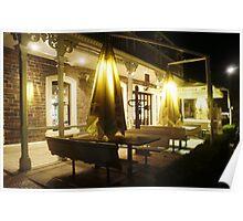 Night Scene Two - Restaurant Poster