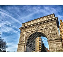 Washington Square Arch Photographic Print