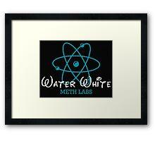 Walter White Meth Labs Framed Print