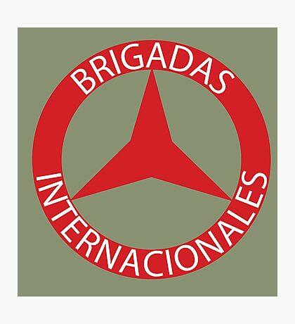 Brigadas Internacionales Photographic Print