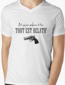 Sch Anarchie Punchline A7 cover french rapper  Mens V-Neck T-Shirt