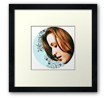Flower Scully Framed Print