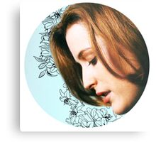 Flower Scully Metal Print