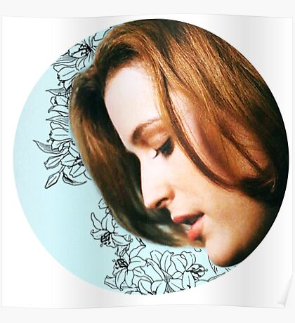 Flower Scully Poster
