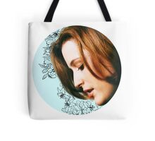 Flower Scully Tote Bag