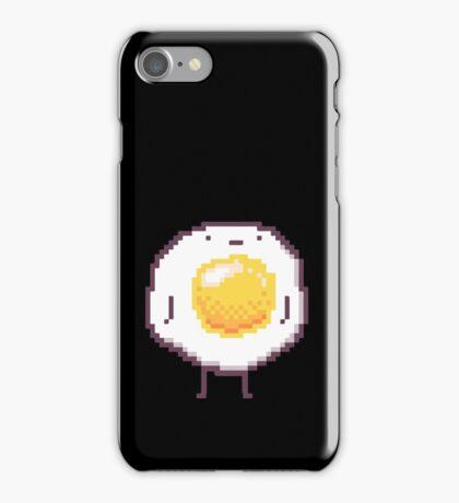 Standing Egg Pixel  iPhone Case/Skin