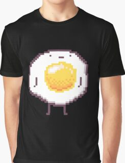 Standing Egg Pixel  Graphic T-Shirt