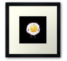 Standing Egg Pixel  Framed Print