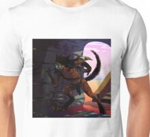 Neko hunter warrior Unisex T-Shirt
