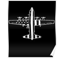 Awesome C-130 Flag Poster