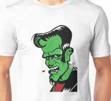 Rockabilly Frankenstein Unisex T-Shirt