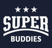 Super Buddies (White) Kids Tee