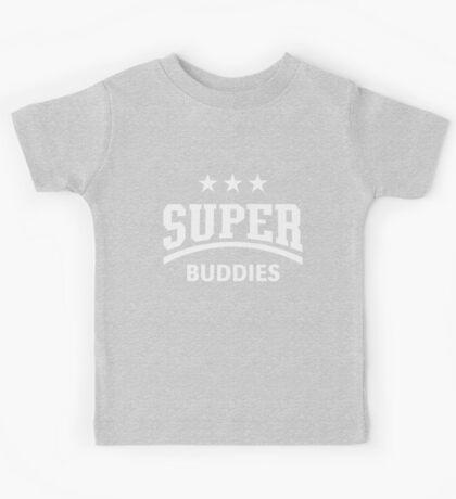 Super Buddies (White) Kids Tee
