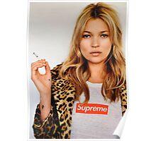 Supreme Kate Moss Poster