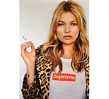 Supreme Kate Moss Photographic Print