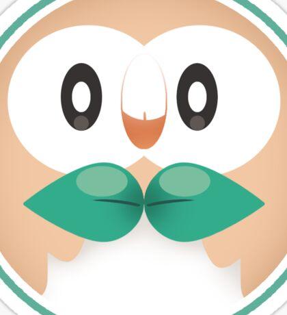 rowlet cute Sticker
