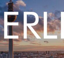 Berlin city Sticker