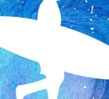 Wave Surf Area Sticker