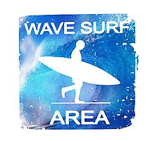 Wave Surf Area Photographic Print
