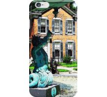 Mighty Neptune Fountain of Madison Indiana iPhone Case/Skin