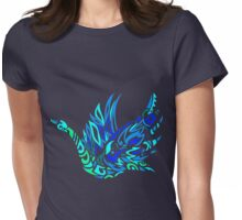 Glass Swan Womens Fitted T-Shirt