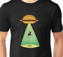 Burger Abduction Unisex T-Shirt